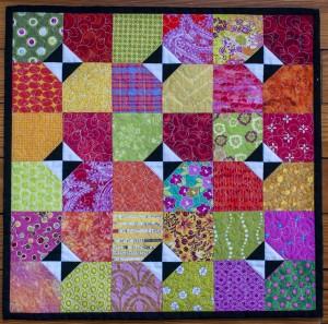 24 spring tiles aurifil