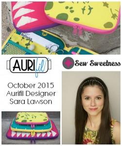 Aurifil 2015 Sara Lawson Oct designers logo