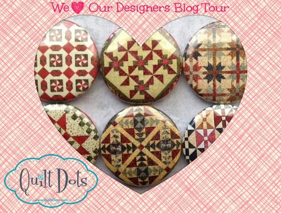 """Quilt Dots """"We Love Our Designers"""" Blog Tour"""