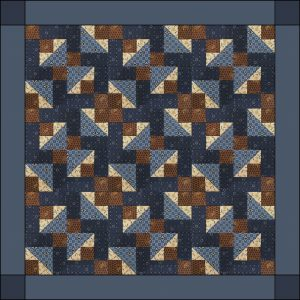 In and Out Quilt Topper