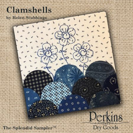 Clamshells - Splendid Sampler Block #3