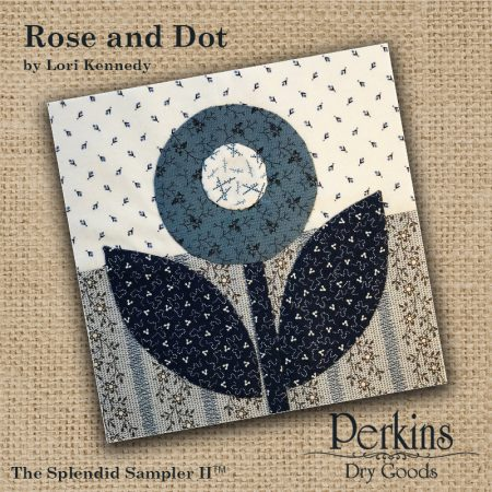 Rose and Dot block