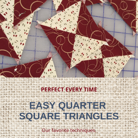 Easy Quarter Square Triangles